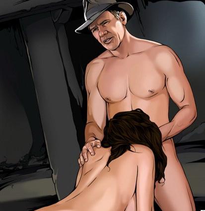 Indiana Jones fucking / Celebrity Comics Porn Celebs Porn
